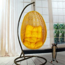 Подвесное кресло Изи желтое