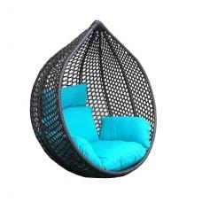 Подвесное плетеное кресло Арриба Cross 120х100см (без стойки)