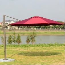 Садовый зонт GardenWay А002-3000 бордовый