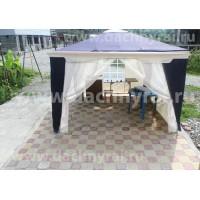 1031 Садовый тент шатер (Green Glade) 3х3м 2 стенки с окном, 2 сетки