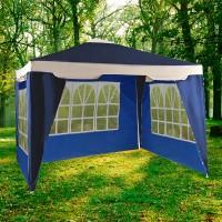 Садовый тент шатер (Green Glade 1031) 3х3м c 3 стенками