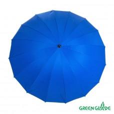 Зонт садовый Green Glade А2072 синий D 240 см