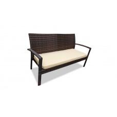 Плетеный диван MILANO 2-х местный