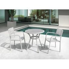 Комплект плетеной мебели LOTUS светло-серый
