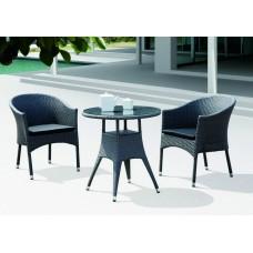 Комплект плетеной мебели WARSAW серый