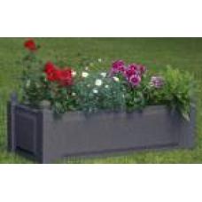 Прямоугольный ящик для растений, антрацит