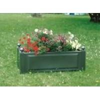 Прямоугольный ящик для растений, зеленый