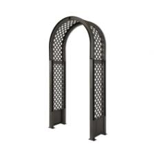 Садовая арка с штырями для установки, антрацит