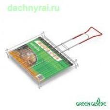 Решетка-гриль Green Glade 728 двойная на ножках
