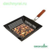 Сковорода-гриль Green Glade 7401 с антипригарным покрытием
