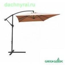 Зонт садовый Green Glade 6403 светло-коричневый