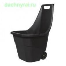 Садовая тележка Prosperplast Load  Go 55л. черный