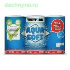 Туалетная бумага для биотуалетов Aqua Soft (10 )