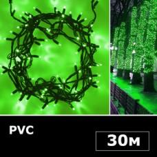 Гирлянда нить 30м зеленый