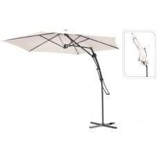 Зонт садовый складной Koopman ф300 купол кремовый FC2100080