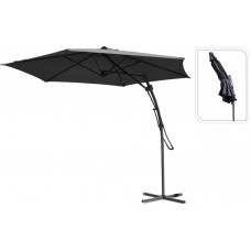 Зонт садовый складной Koopman ф300 купол темно-серый FC2100100