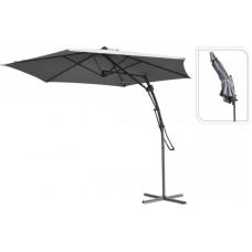 Зонт садовый складной Koopman ф300 купол светло-серый FC2100110