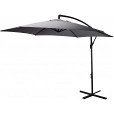 Зонт садовый складной Koopman ф300 купол темно-серый FC3000100