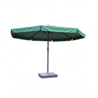 Зонт садовый для кафе 4 м с подставкой зеленый MYA-002