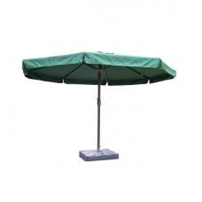 Зонт садовый для кафе 4 м с подставкой зеленый Meiya